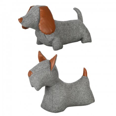 Cale-porte chien - L 10,8 cm x l 31,4 cm x H 26,9 cm - Livraison gratuite