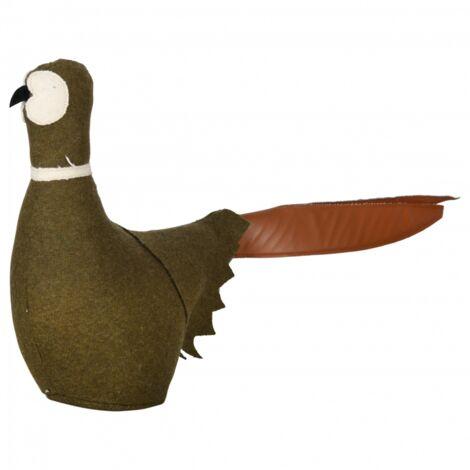 Cale-porte en feutre - Oiseau - L 47,3 cm x l 10,8 cm x H 30,5 cm - Livraison gratuite