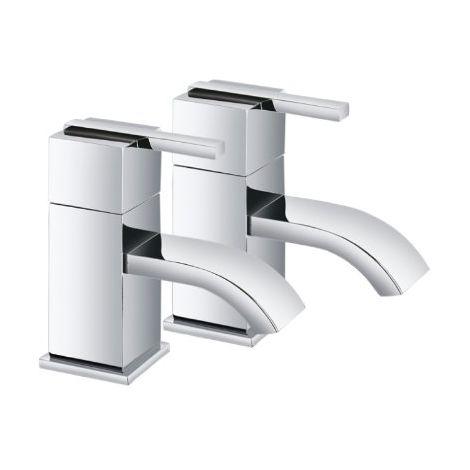 Caledonia Chrome Bath Taps