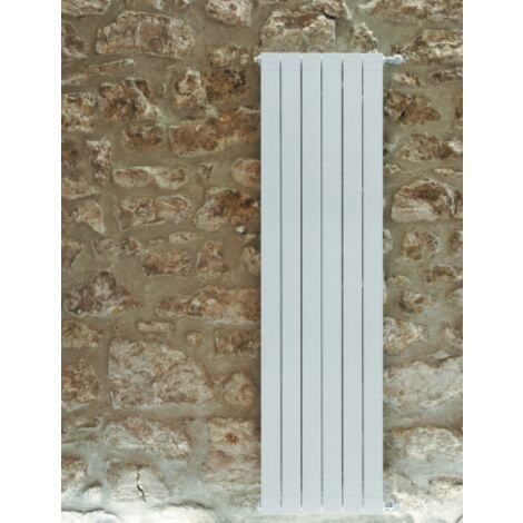 Calefacción central de aluminio 1 elemento blanco, altura 1846 mm, OCAR1800