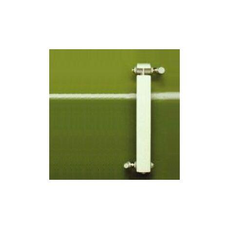 Calefacción central de aluminio fundido 1 elemento blanco KLASS 600, 132w