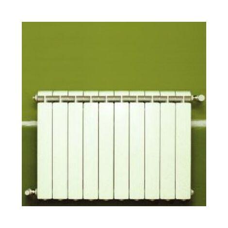 Calefacción central de aluminio fundido 10 elementos blanco KLASS 500, 1160w
