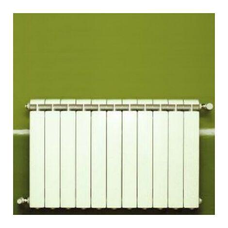 Calefacción central de aluminio fundido 11 elementos blanco KLASS 600, 1452w