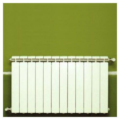 Calefacción central de aluminio fundido 12 elementos blanco KLASS 700, 1776w
