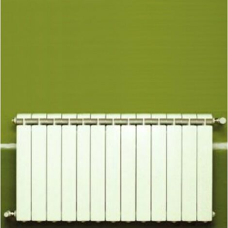 Calefacción central de aluminio fundido 13 elementos blanco KLASS 600, 1716w