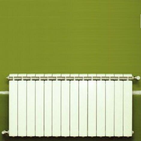 Calefacción central de aluminio fundido 14 elementos blanco KLASS 600, 1848w