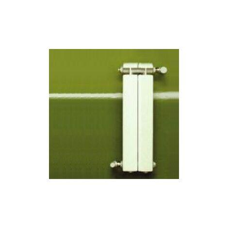 Calefacción central de aluminio fundido 2 elementos blanco KLASS 800, 324w