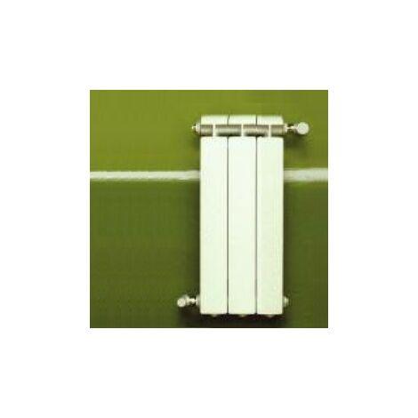 Calefacción central de aluminio fundido 3 elementos blanco KLASS 800, 486w