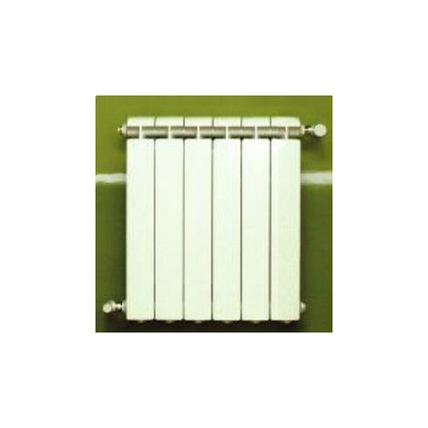 Calefacción central de aluminio fundido 6 elementos blanco KLASS 350, 510w