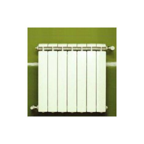 Calefacción central de aluminio fundido 7 elementos blanco KLASS 600, 924w
