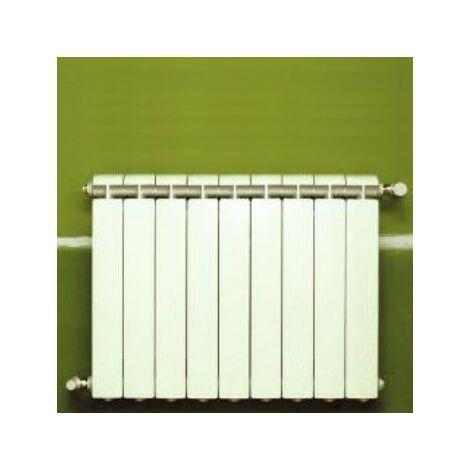 Calefacción central de aluminio fundido 9 elementos blanco KLASS 600