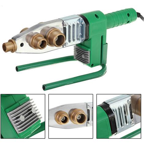 Calefacción eléctrica completamente automática verde para la máquina de soldadura de tubos PB PPR PE PPR
