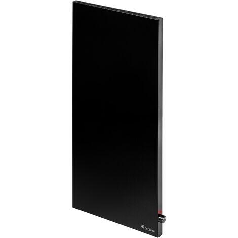 Calefacción por infrarrojos con regulador por termostato basic vertical - calefactor por infrarrojos, panel de calor infrarrojo para interior, placa térmica de chapa de acero