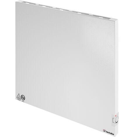 Calefacción por infrarrojos con regulador por termostato, variante 2 - calefactor por infrarrojos, panel de calor infrarrojo para interior, placa térmica de chapa de acero