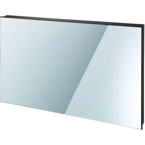 Calefacción por infrarrojos espejo - calefactor por infrarrojos, panel de calor infrarrojo para interior, placa térmica de chapa de acero