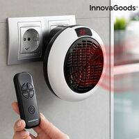 Calefactor Cerámico De Enchufe Con Mando A Distancia Innovagoods 600w