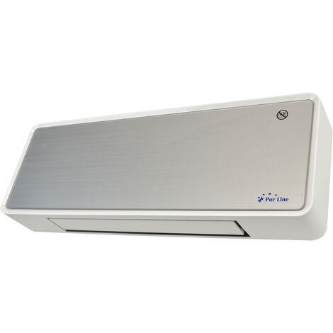 Calefactor cerámico de pared con 2000 W con pantalla digital, mando a distancia y temporizador HOTI M80
