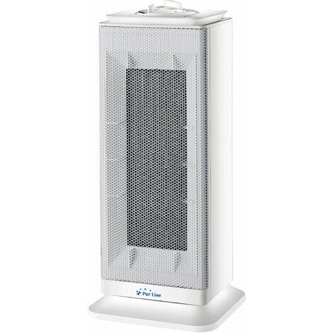 Calefactor cerámico de torre con termostato 1000W - 2000 W HOTI T10