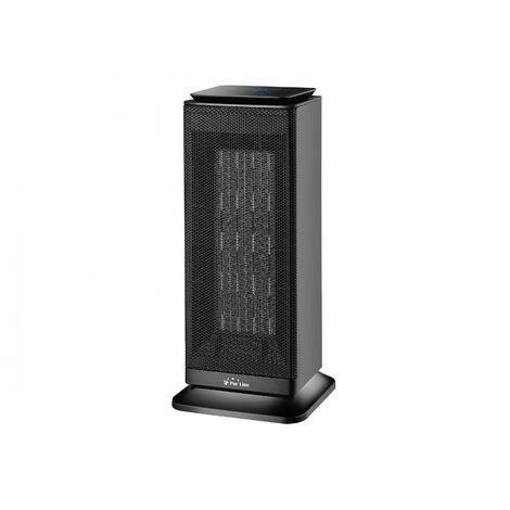 Calefactor cerámico de torre con termostato 1000W - 2000 W HOTI T20