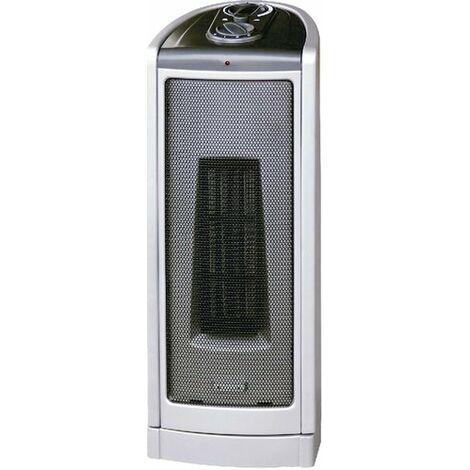 Calefactor Ceramico Grande | Potencia 750/1500W. Oscilante | Estufa de pie