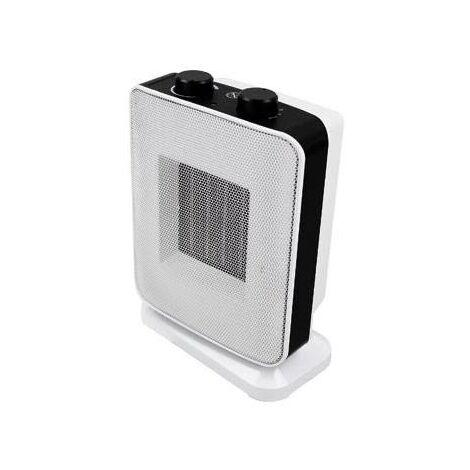 "main image of ""Calefactor cerámico oscilante blanco 900w/1800w"""