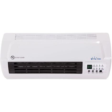 Calefactor cerámico Split 1000W / 2000W con mando a distancia