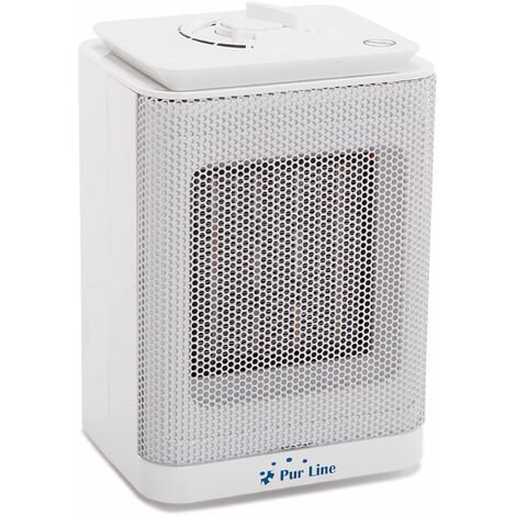 Calefactor cerámico suelo con termostato 750W - 1500 W