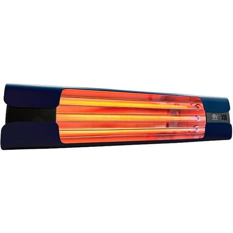 Calefactor de cuarzo por infrarrojo CasaFan 70006 CASATHERM Thermologika Design azul oscuro