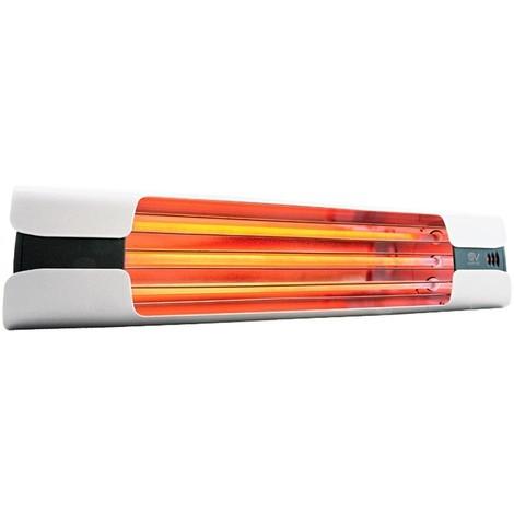 Calefactor de cuarzo por infrarrojo CasaFan 70007 CASATHERM Thermologika Design blanco
