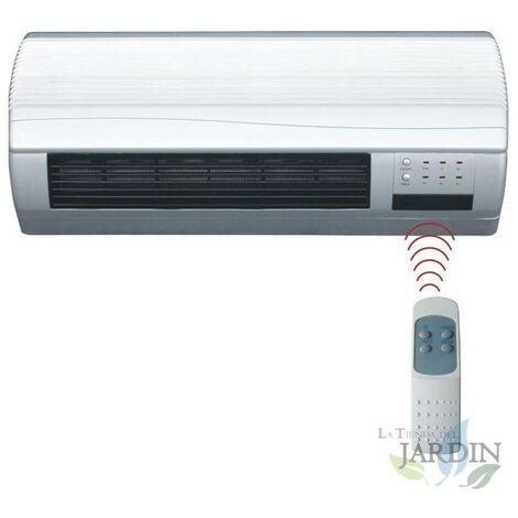 Calefactor de pared, función ventilación 1000W-2000W