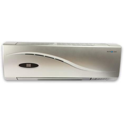 Calefactor de pared LUXUS con mando y temporizador