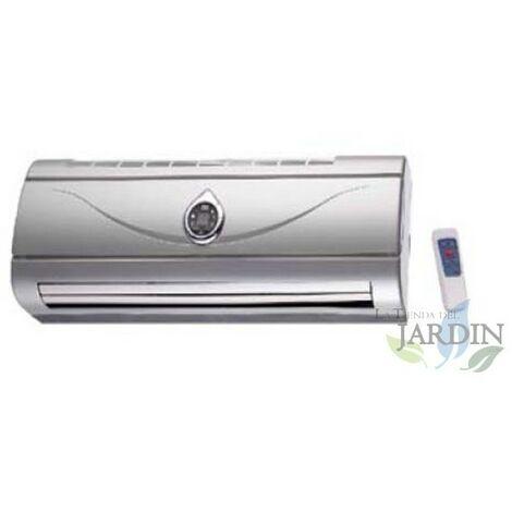 Calefactor de pared plata 1000W-2000W