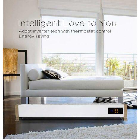 Calefactor de suelo radiante sin viento cm 140x12,5x24 SINED JH-NC22-18C - Blanco