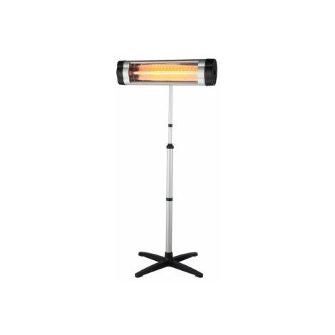 Calefactor Elec 2000w Ip34 Cuarzo Terraz Pie O Pared Natuur