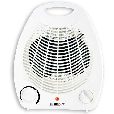 Calefactor electrico 2 ajustes de temperatura 1000/2000W.