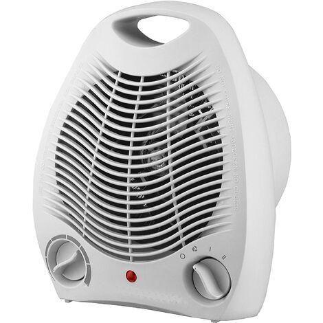 Calefactor eléctrico 2000W vertical color blanco