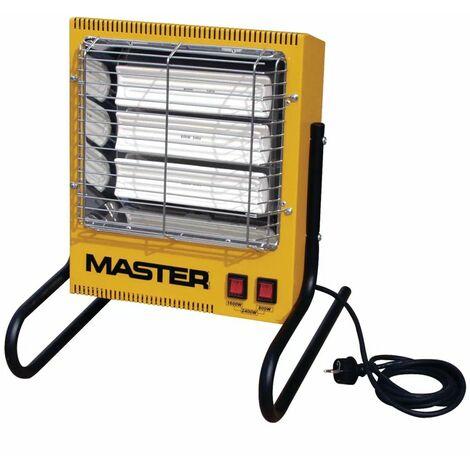 Calefactor eléctrico por infrarojos TS3A, marca Master