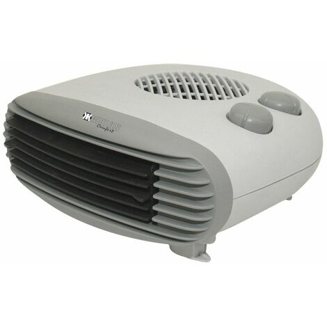 Calefactor Electrico Termoventilador Kekai 26x25x11 cm Gris
