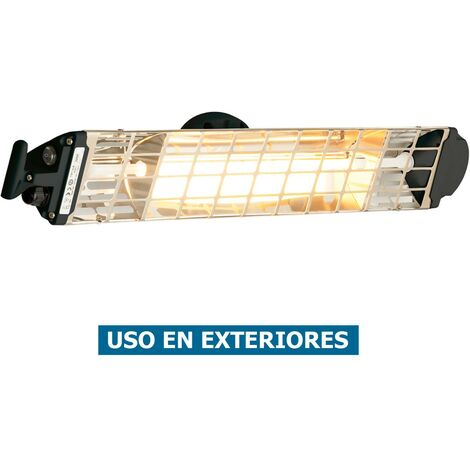 Calefactor halógeno por infrarrojo Mo-El 767N FIORE 1800N