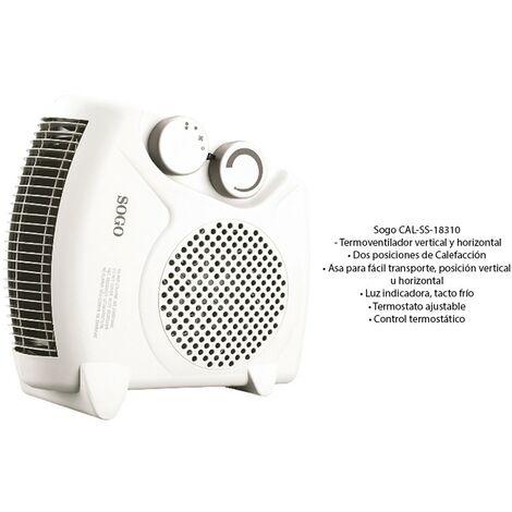 Calefactor horizontal/vertical 2000w 18310