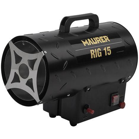 Calefactor Industrial A Gas Con Cañon 15 Kw
