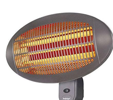 Calefactor mural p/exterior Habitex E398