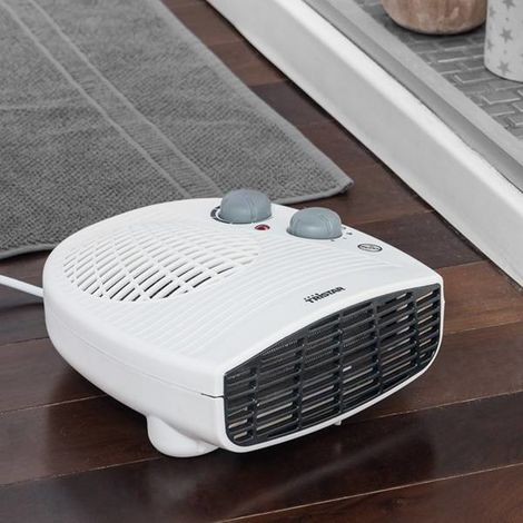 Calefactor Portátil Tristar KA5046 1800-2000W Blanco Negro