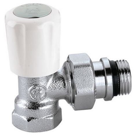 Caleffi 401402 Angle valve thermostatic for steel tube