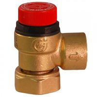 Caleffi - 6 Bar Pressure Relief Valve 3/4 Loose Nut to 1/2 BSP 311501
