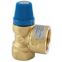 Caleffi Sicherheitsventil 1/2'' IG für Brauchwasser - 6 bar - bis 100°C - Auslass 3/4'' IG - 531460