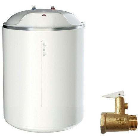 Calentador de agua eléctrico Atlantic Ego 10 Litros Vertical bajo el fregadero 821247