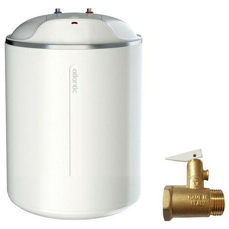 Calentador de agua eléctrico Atlantic Ego 15 Litros Vertical bajo el fregadero 821249
