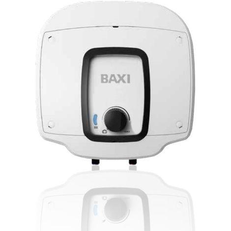 Calentador de agua eléctrico, Baxi Acquapocket RS501 10 Litros encima del lavabo A7734467
