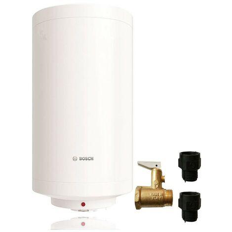 Calentador de agua eléctrico Bosch Tronic 2000 T Slim de 80 litros 7736503356